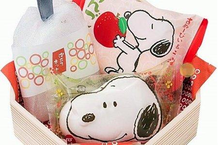 日本進口史努比香氛保濕六角造型香皂禮盒