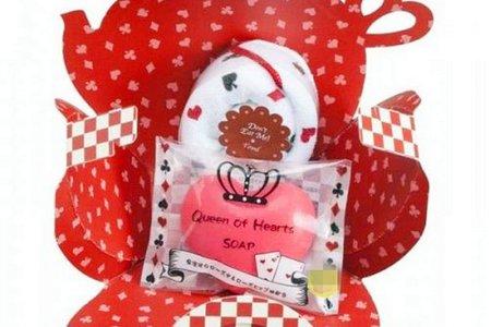 日本原裝合法完稅進口愛麗絲系列造型禮盒