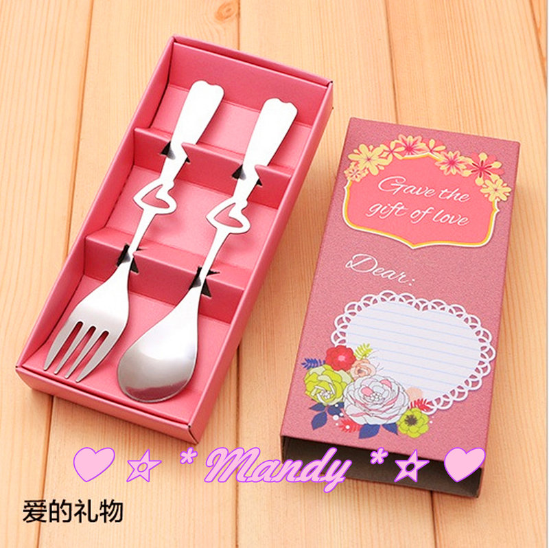 ?#愛的禮物-不銹鋼叉勺餐具禮盒?