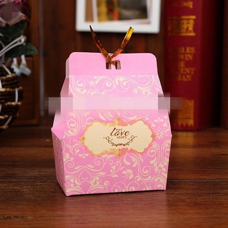 浪漫滿屋 歐式喜糖盒