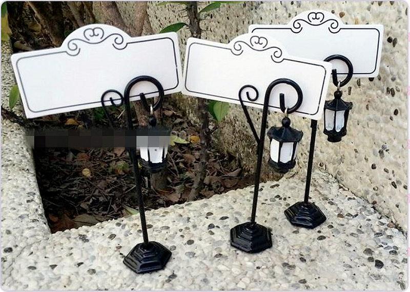 花園吊燈席位夾