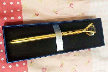 創意精緻特殊鑽石和珠珠造型原子筆禮盒