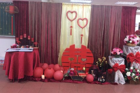 各式氣球;卡通;浪漫;典雅,鄉村...等各種風格會場佈置照