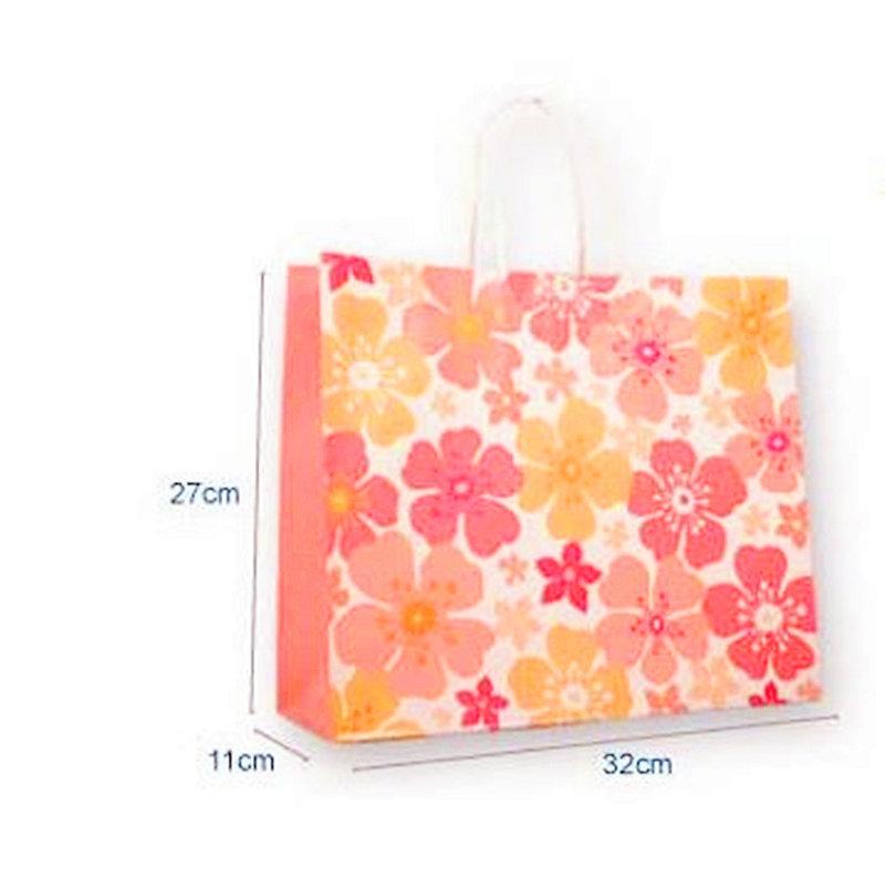 和風花鄉彩色禮物袋MIT製-橫式