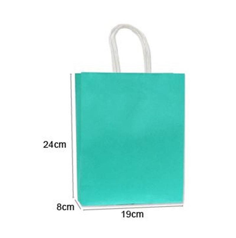 優質蒂芬妮水藍綠色禮品袋MIT製-小號