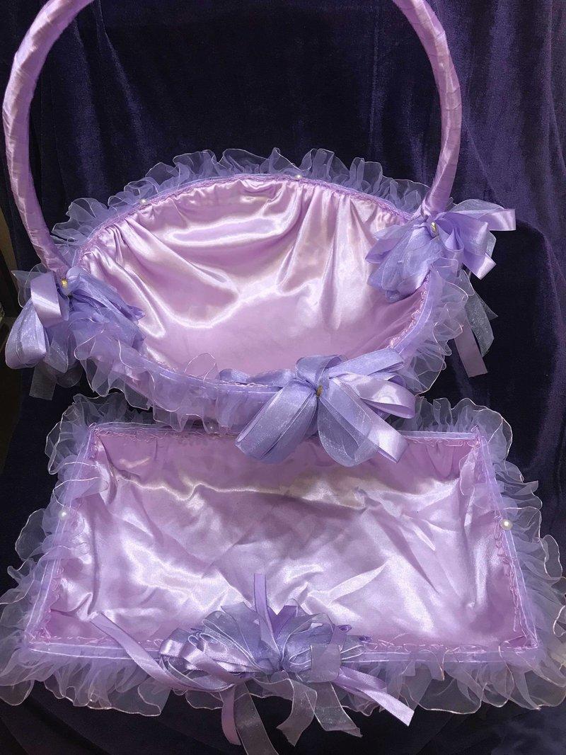 紫色紗網之戀提籃組