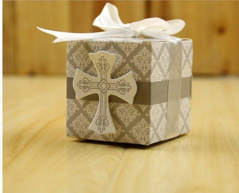 教會十字架 喜糖盒 基督教 耶穌愛你 婚