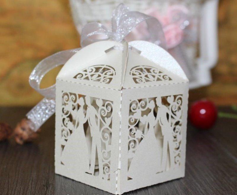 糖果紙盒 婚禮包裝 情人節 歐美喜糖盒