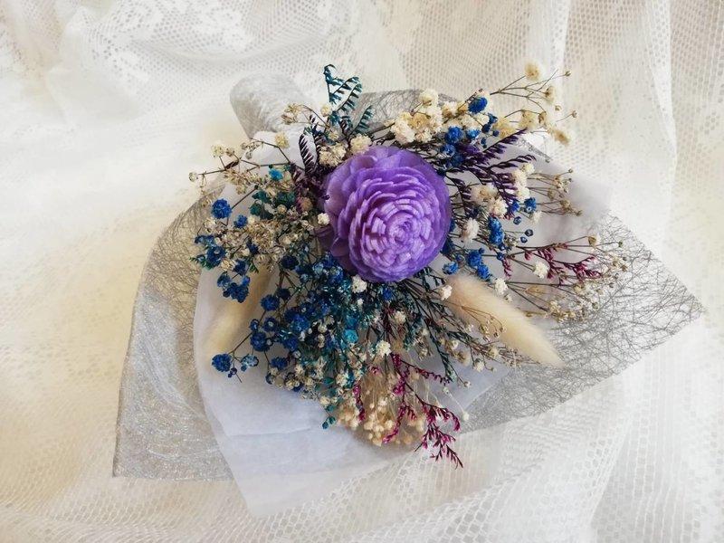 紫色 寬15 高17 太陽玫瑰,染色滿天