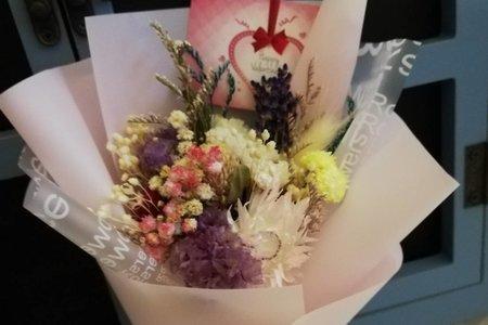 純手工新鮮鮮製乾燥迷你花束 小花束 大捧花Ⅱ