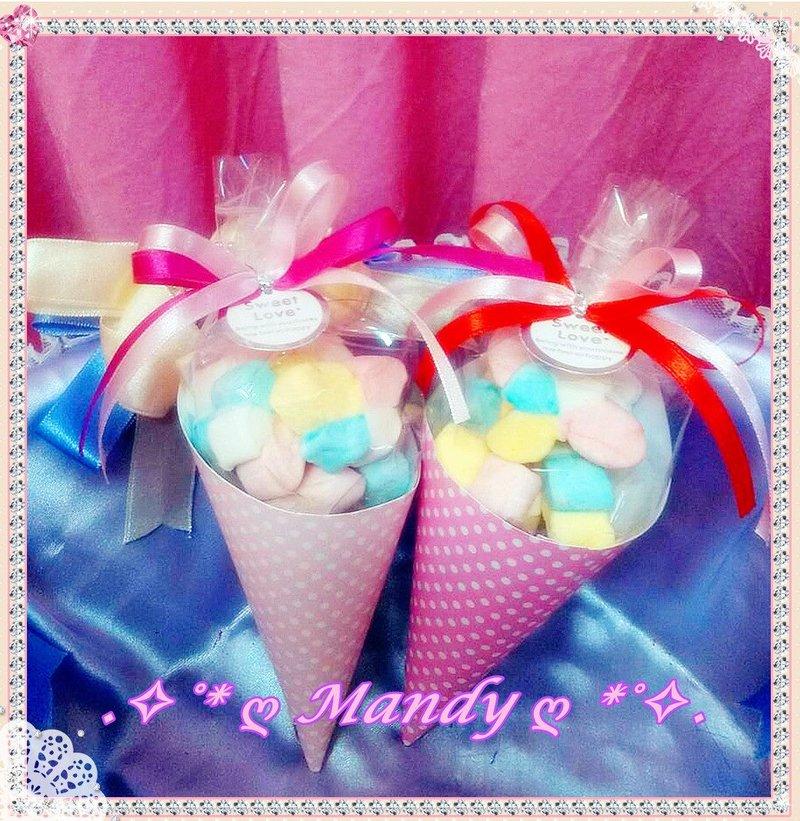<3 新款式-超可愛的糖球棉花糖棉花糖筒
