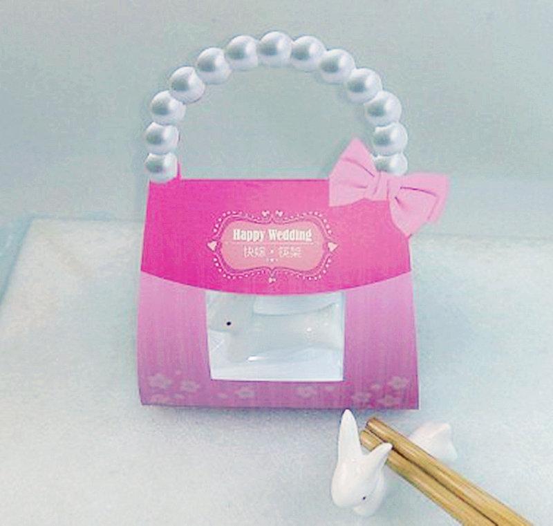 可愛小兔子筷架禮盒