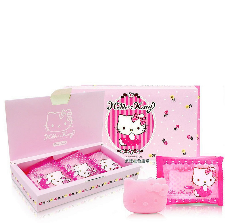 KT新款香皂禮盒3入組