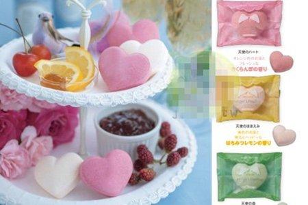 日本限定製造 進口-愛心型 碳酸溫浴心型