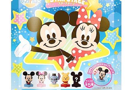 日本限定進口 卡通三麗鷗迪士尼驚喜沐浴球