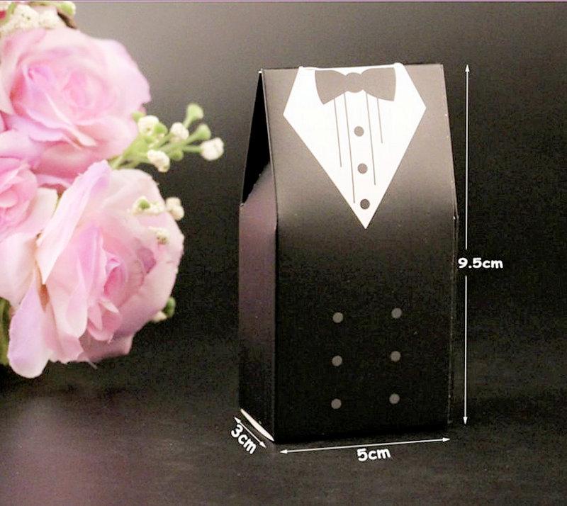 歐式新郎與新娘款糖盒 - 現貨