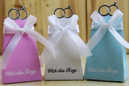 浪漫 歐美 兩款喜糖盒 糖果盒 糖盒
