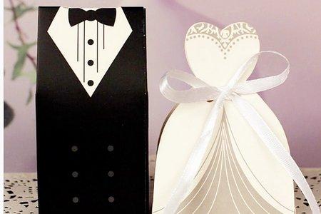 新款歐式喜糖盒.喜糖 婚禮小物 新郎新娘
