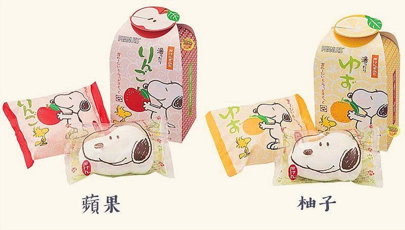 日本進口史奴比Snoopy造型香皂組合