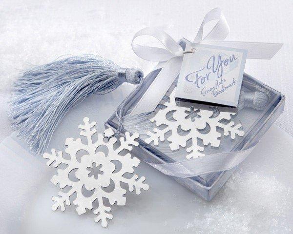 婚禮小物 雪花書籤禮盒