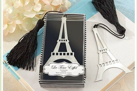 精緻婚禮小物 8款書籤禮盒 二進禮送客禮