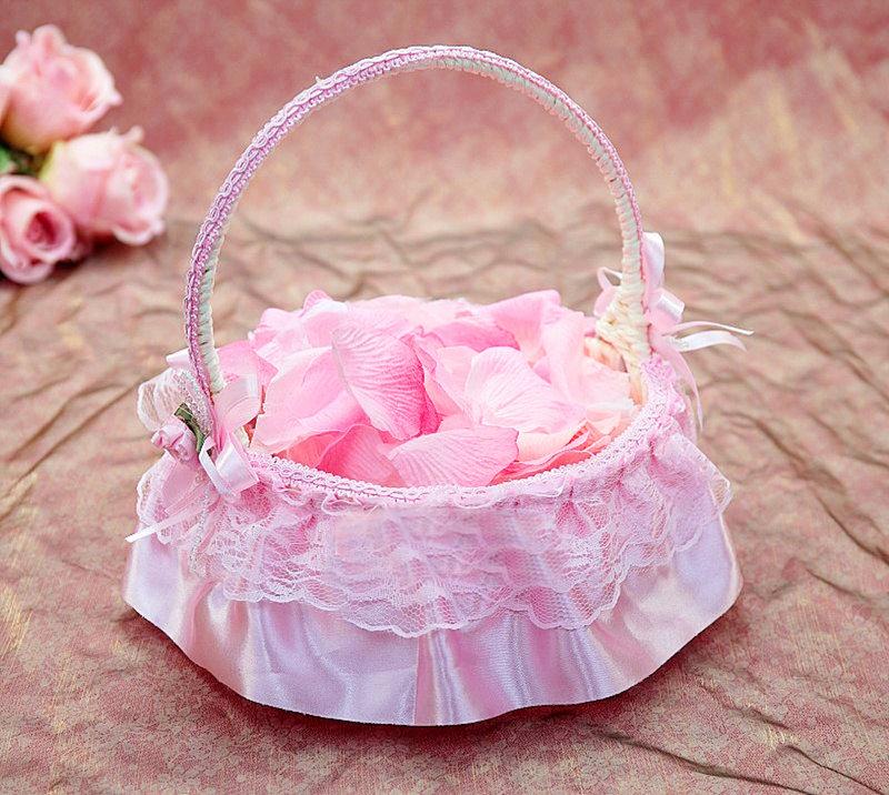 小可愛花童籃