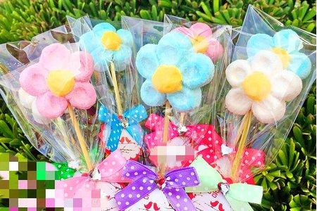 義大利進口花朵棉花糖串 二進 送客首選