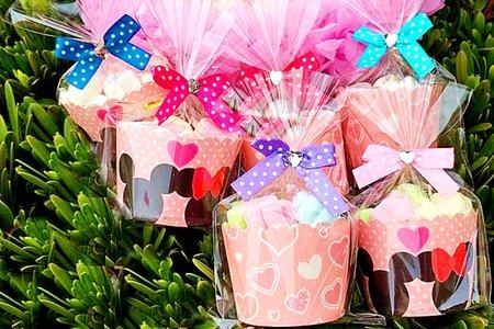棉花糖杯15顆裝 可挑款式(不含糖籃)