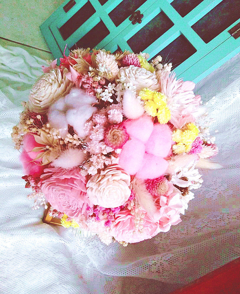 10月15日新人訂製捧花