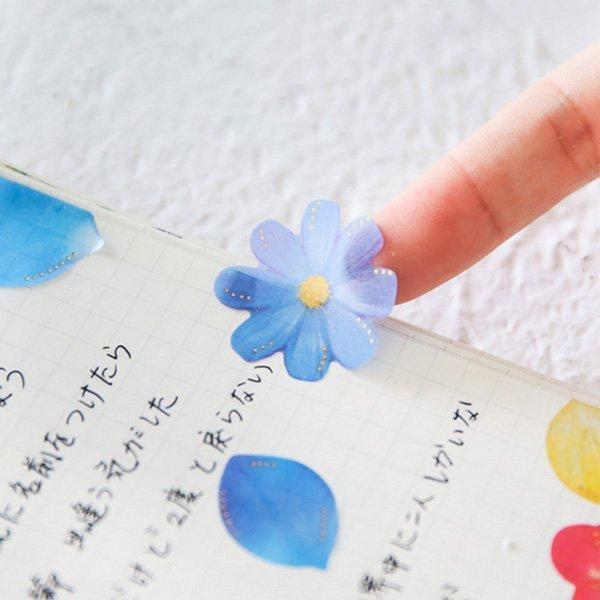 蝴蝶結夢幻香水瓶花朵貼紙包