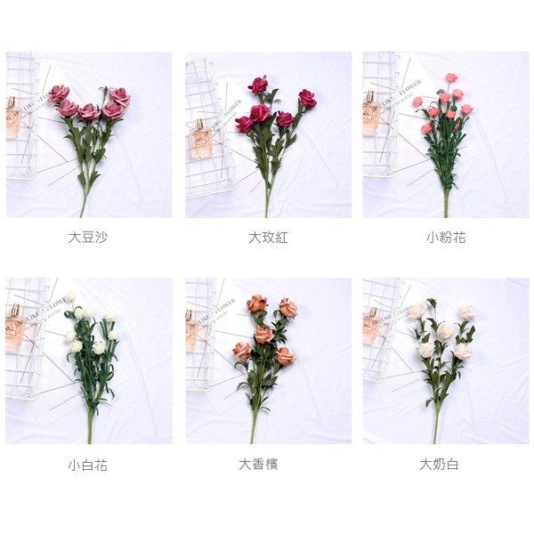 韓風仿真泡沫玫瑰花束 室內裝飾 拍攝道具
