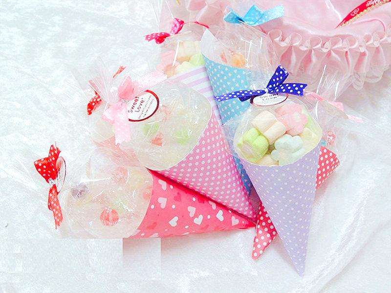 新品 超可愛的喜糖甜筒