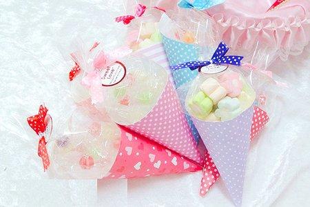 新款式-超可愛的糖球棉花糖筒組