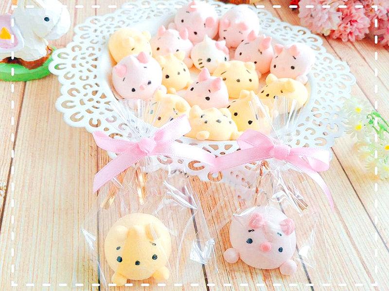 純手工製作可愛可揉捏造型棉花糖