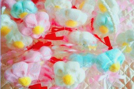 義大利進口-立體花朵造型棉花糖