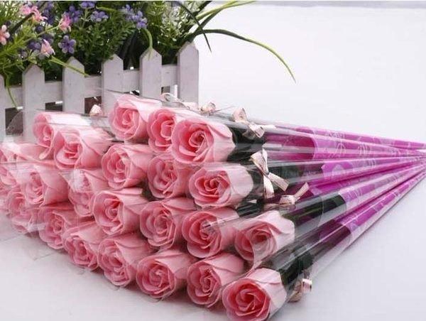 桃紅色香皂花束(精裝版) 婚禮小物 來店