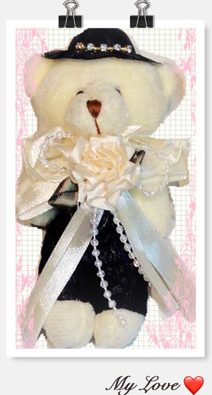 百年幸福婚紗熊 新郎