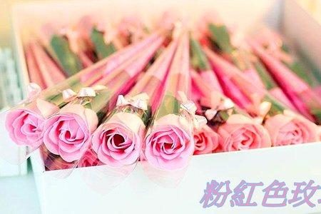 藍色玫瑰 仿真花 香皂花束(精裝版)批發