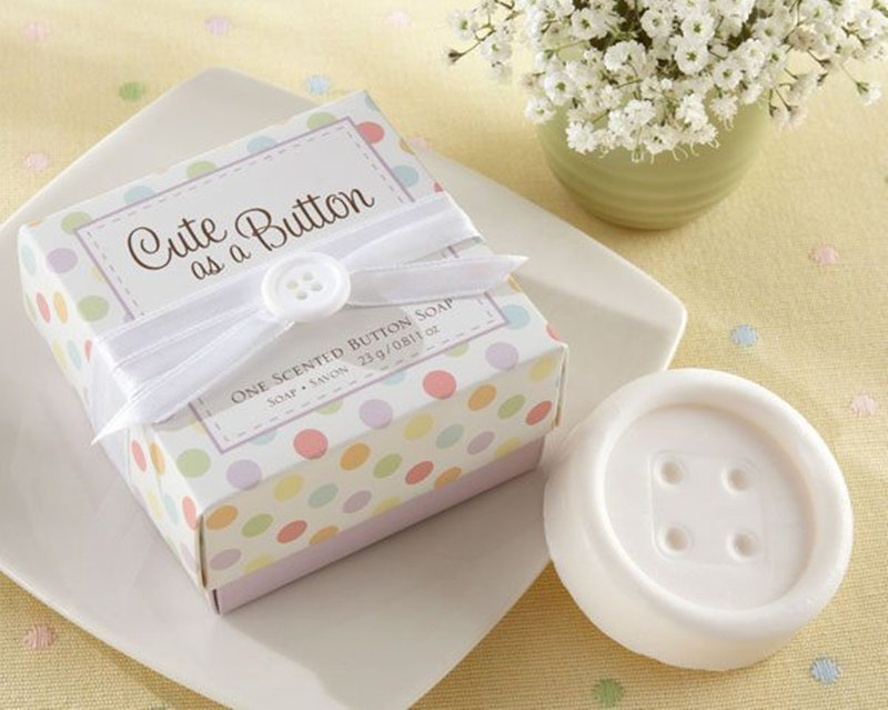 鈕扣香皂小香皂禮盒