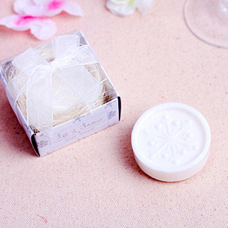 雪花造型香皂禮盒