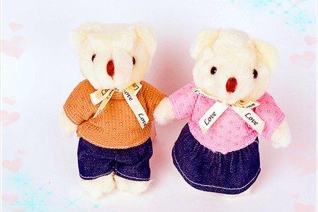 台灣生產製造的各種婚紗婚禮小熊