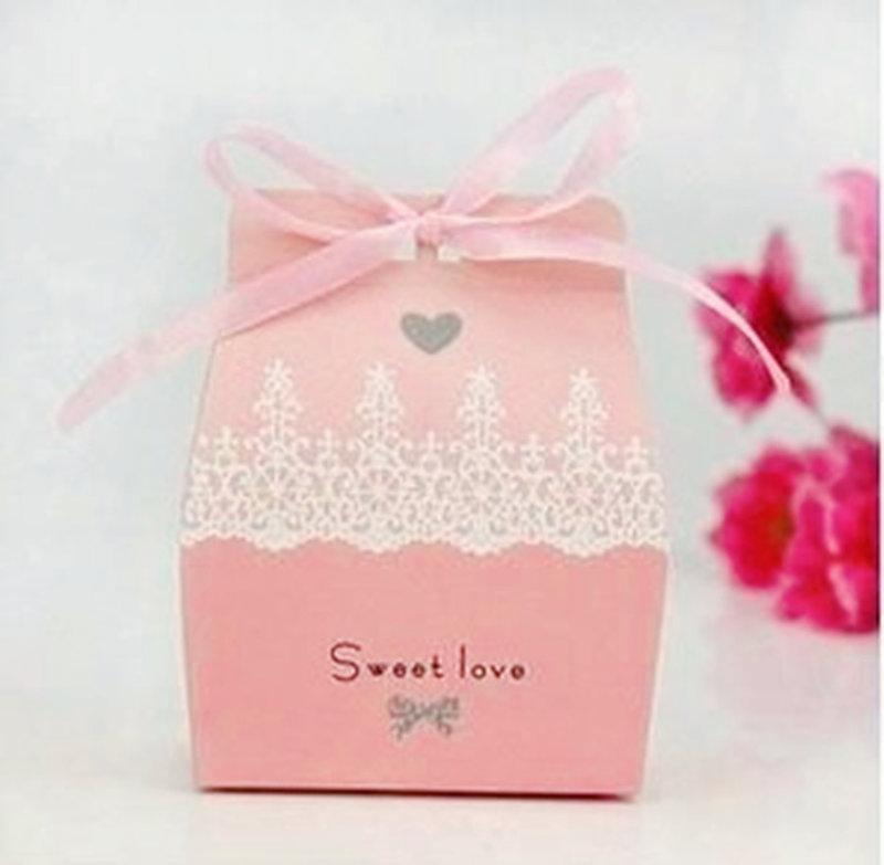 藍色歐式喜糖盒 喜糖袋