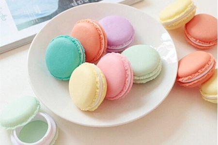 仿真可愛小不點法國甜點熊馬卡龍飾品小物迷