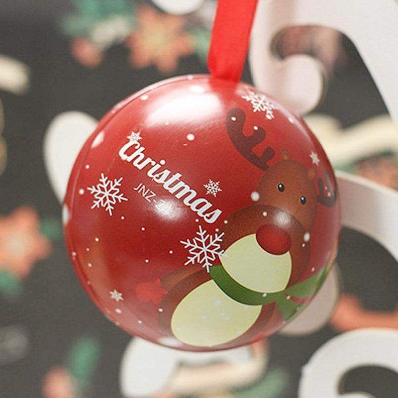 耶誕期間限定小物 聖誕節限定四元素禮物球