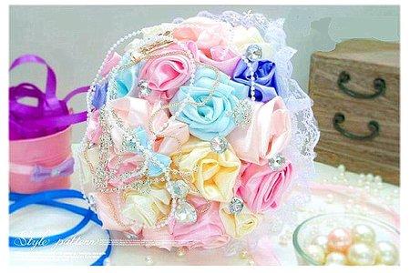 💓 11~12月新人接受親製.製作的多款純手工製作韓式 - 珠寶秀士捧花系列捧花 💓