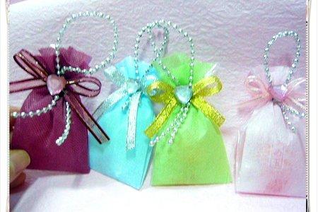 👛手工製作可愛不織布囍糖袋