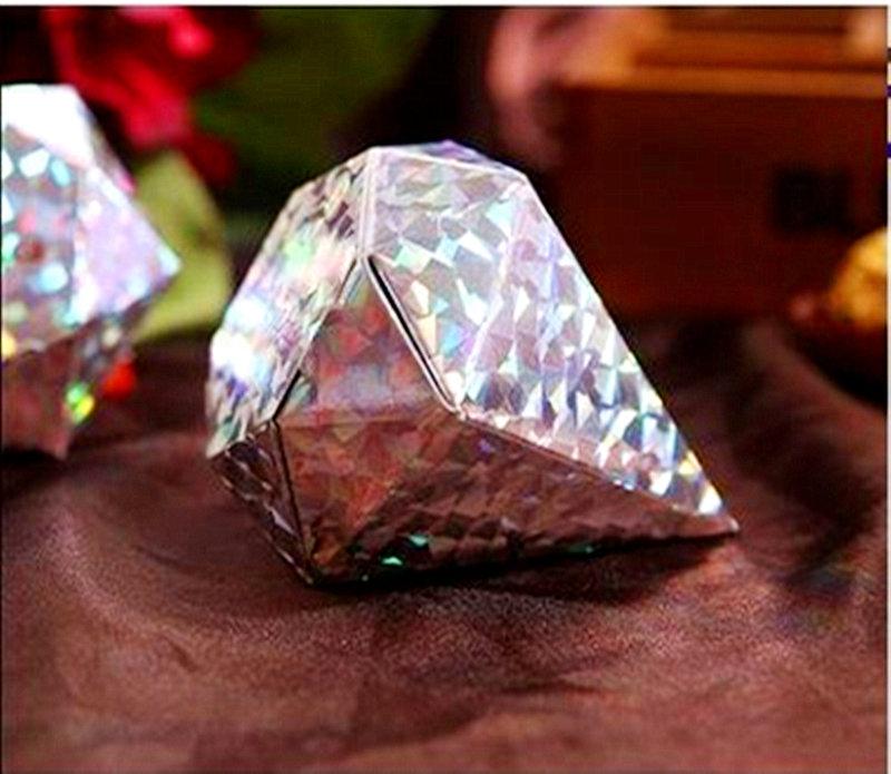 銀蔥色鑽石糖盒