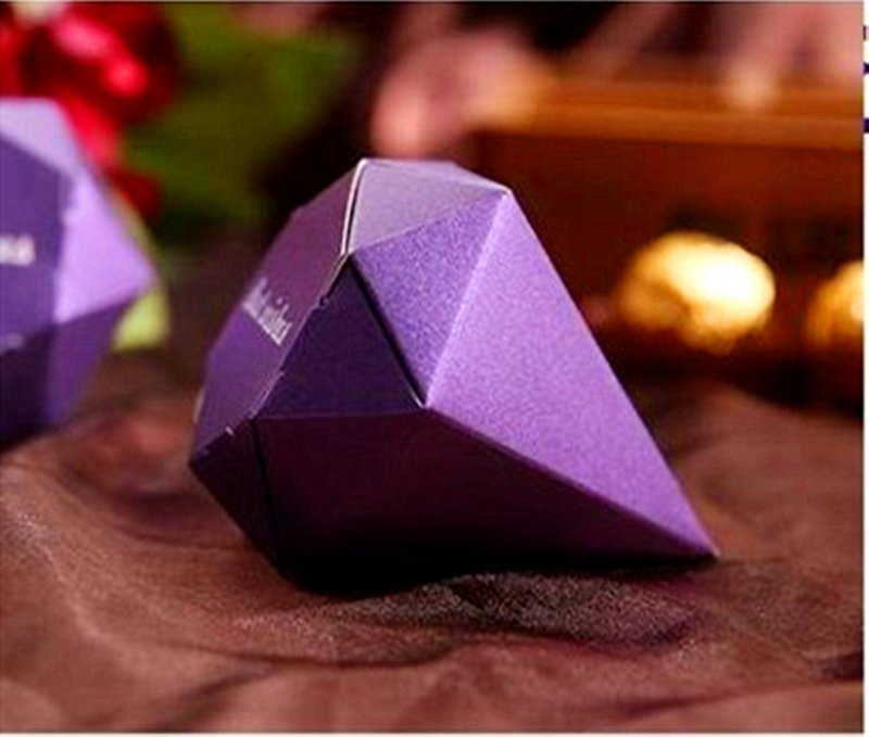 深紫神秘鑽石糖盒