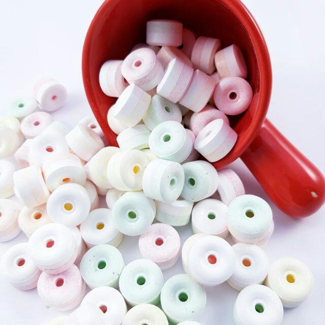 繽紛五色彩筆+嗶嗶糖全新8入包