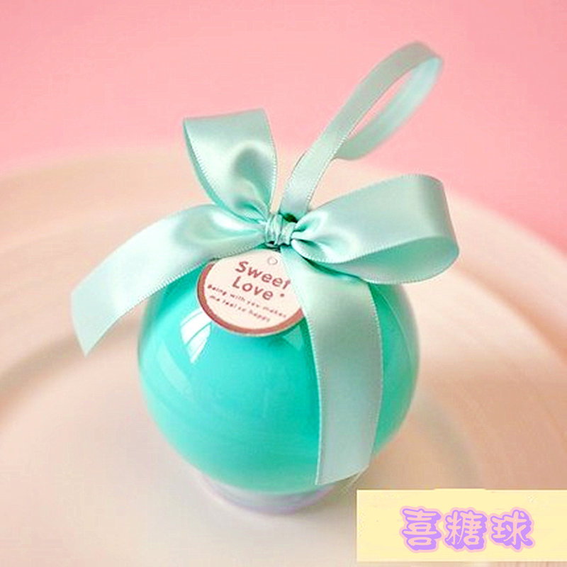 浪漫糖球/喜糖盒/愛心馬口鐵喜糖盒